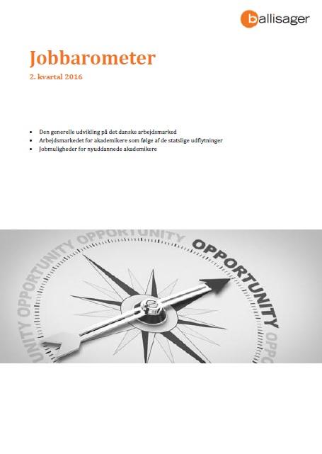 Jobbarometer 2. kvartal 2016