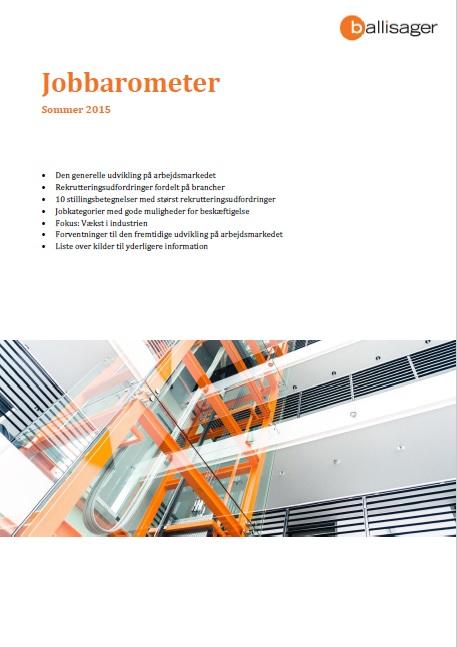 Jobbarometer sommer 2015 Konsulenthuset ballisager