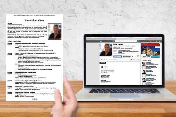 Forskel mellem CV og LinkedIn profil