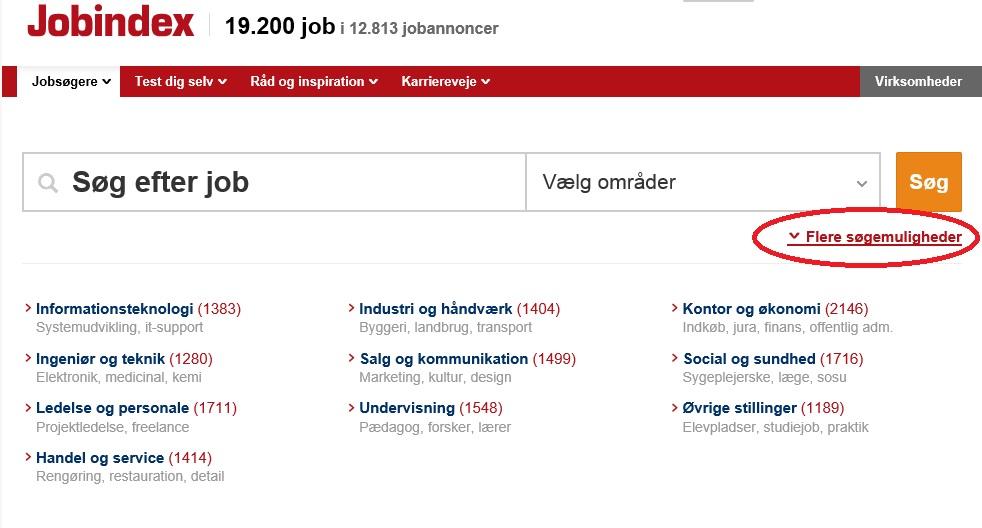 Jobindex arkivfunktion