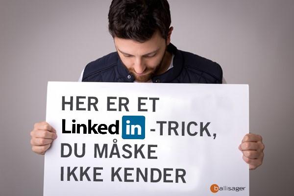 LinkedIn-trick til din jobsøgning