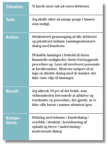 STARK-modellen til kompetenceafklaring