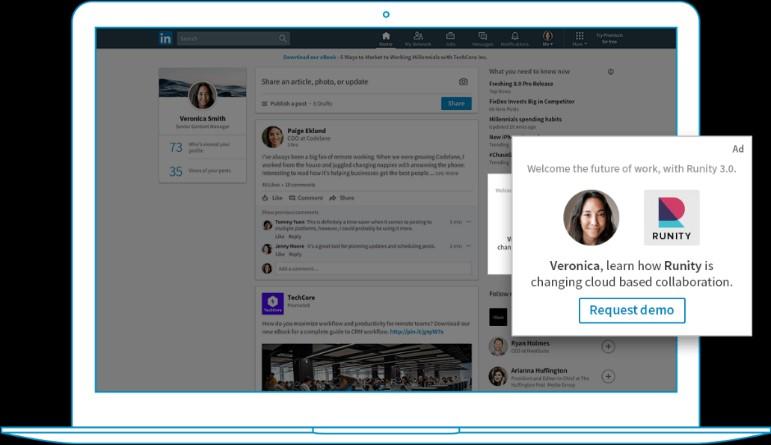 LinkedIn Spotlight annoncer rekruttering