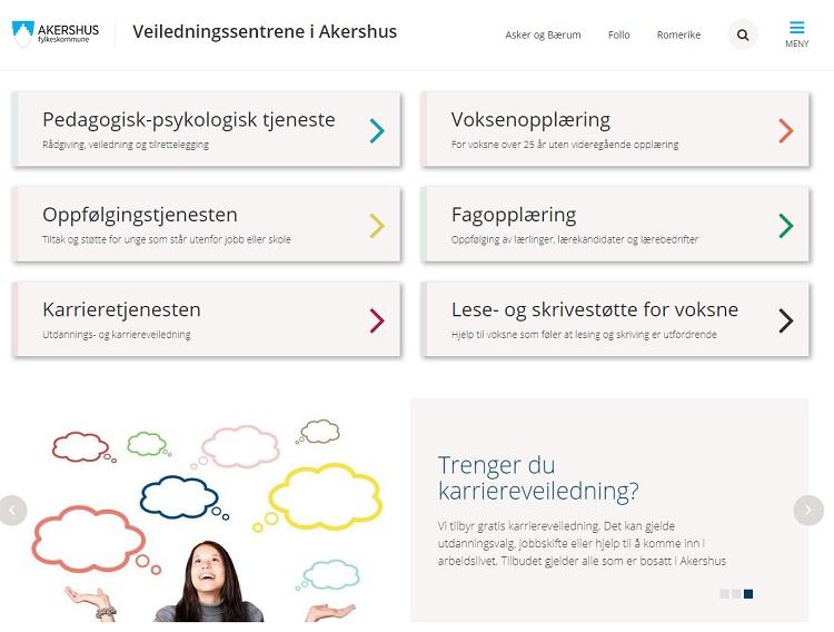Akershus offentligt karrieresenter i Norge
