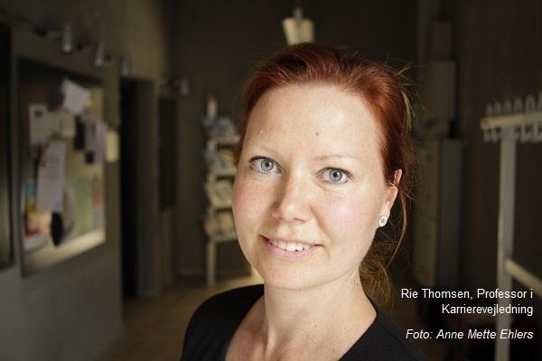 Rie Thomsen Professor i Karrierevejledning om fastbrændthed